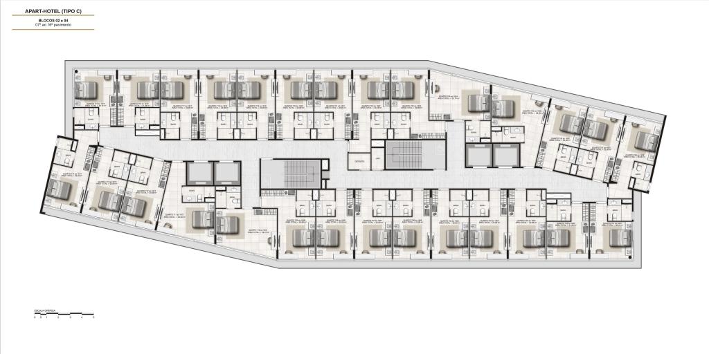 Nexus hotel e residences maca calper nexus hotel for Hoteles en planta