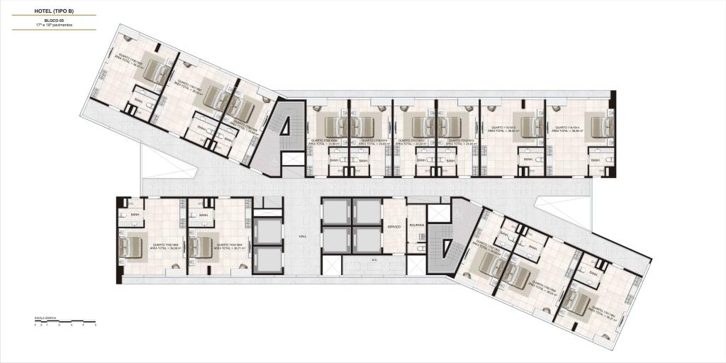 Nexus hotel e residences maca lagoa maca hotel e for Hoteles en planta